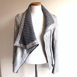 Catherine Malandrino leather jacket size 38